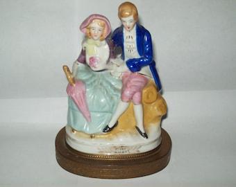 Vintage Victorian Porcelain Figurine- Occupied Japan