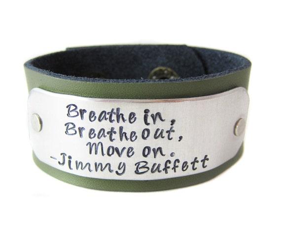 Jimmy Buffett Breathe in Breathe out Move by ...