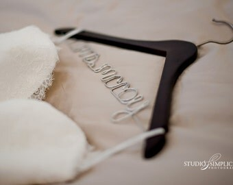 Personalized Bridal Hanger for Your Wedding Dress