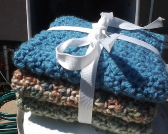 3-Piece Washcloth Set