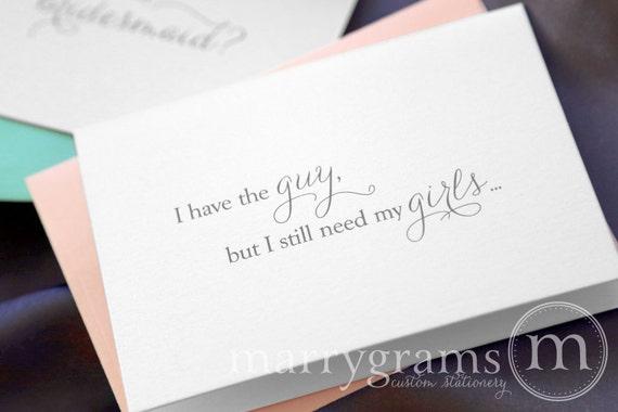 Will You Be My Bridesmaid, Maid of Honor, Wedding - Bridal Party Cards to Ask Bridesmaid, Matron of Honor, Flower Girl, Jr. Bridesmaid CS01