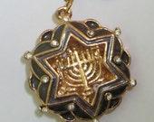 KeyChain Magen David Hanukkah Menorah SOUVENIR JUDAICA Israel gift