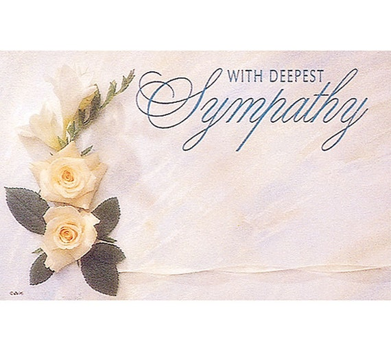 With deepest sympathy flowers florist blank