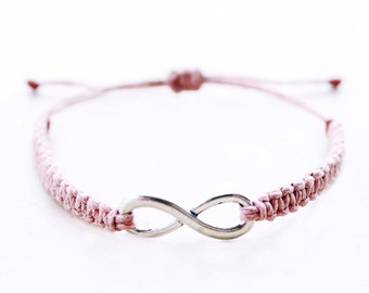 Infinity Bracelet - Hemp Bracelet - Hemp Jewelry