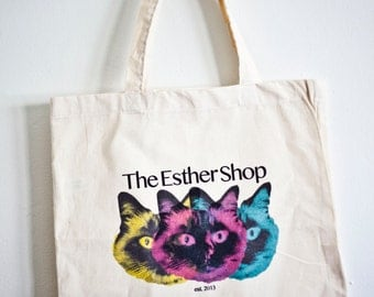 The Esther Shop Tote Bag