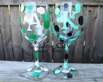 Personalized Wine Glass 20 oz Party Birthday Gifts Holidays