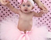 Pink Cake Smash Tutu, 1st Birthday Outfit, Custom Tutu, Pink First Birthday Tutu, Baby Tutu, Newborn Tutu, 1st Birthday Tutu, Toddler Tutu