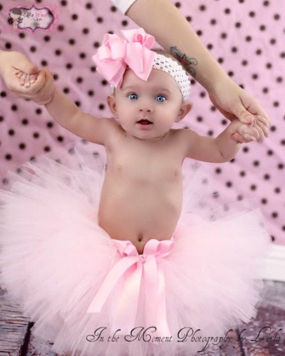 Pink Cake Smash Tutu, 1st Birthday Outfit, Pink First Birthday Tutu, Baby Tutu, Newborn Tutu, 1st Birthday Tutu, Toddler Tutu
