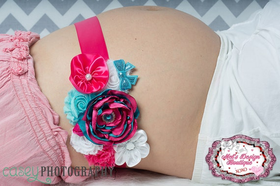 items similar to maternity sash belly band pregnancy