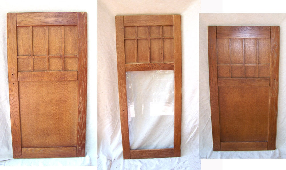 Exceptionnel Mission Arts U0026 Crafts Cabinet Doors Craftsman Oak Door Victorian Butler  Pantry Kitchen Library Cabinet Architectural