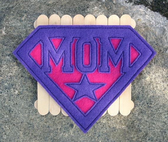 Super Mom Patch
