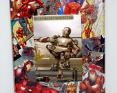 "CUSTOM Comic Collage  5"" x 7"" Picture Frame"