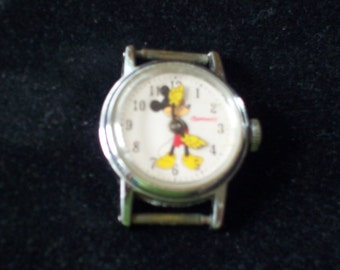 Vintage Antique Disney Mickey Mouse Watch 1948