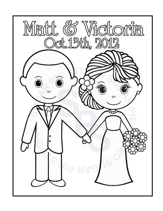 coloring pages of a groom - photo#22