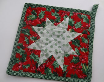 PDF pattern for a Simple Star potholder