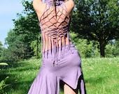 Fairy Pixie Modern primitive hood dress