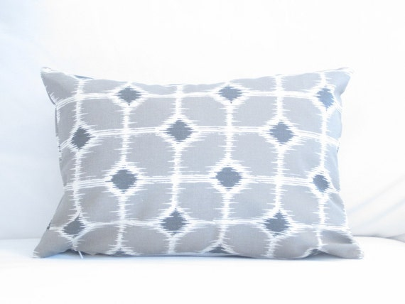 lumbar trellis pillow cover chair pillows 12x18 inch decorative