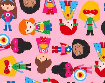 Super Girls on Pink from Robert Kaufman