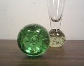 Vintage Bubble Base Bud Vase
