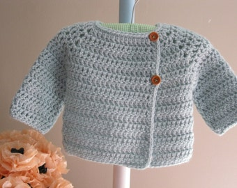 Baby Sweater Pattern.........Florrie's Sweater