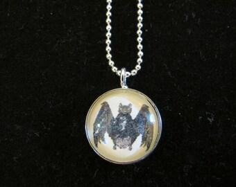Bat Pendant, antique image