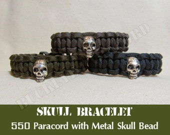 550 Paracord Skull Bracelet