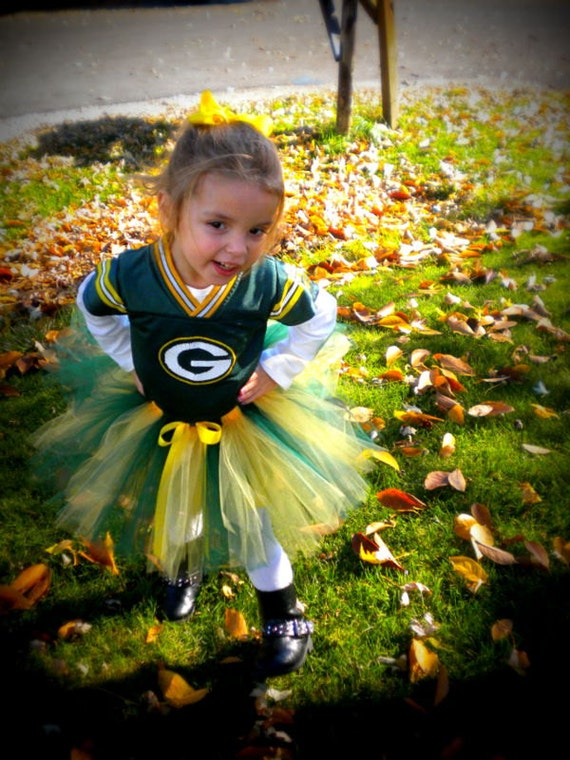 Packers Colors Tutu | Green Bay Colors Tutu | Yellow and Green Tutu | Baby Toddler Tutu | Football Tutu | Sports Tutu | Green Gold Tutu