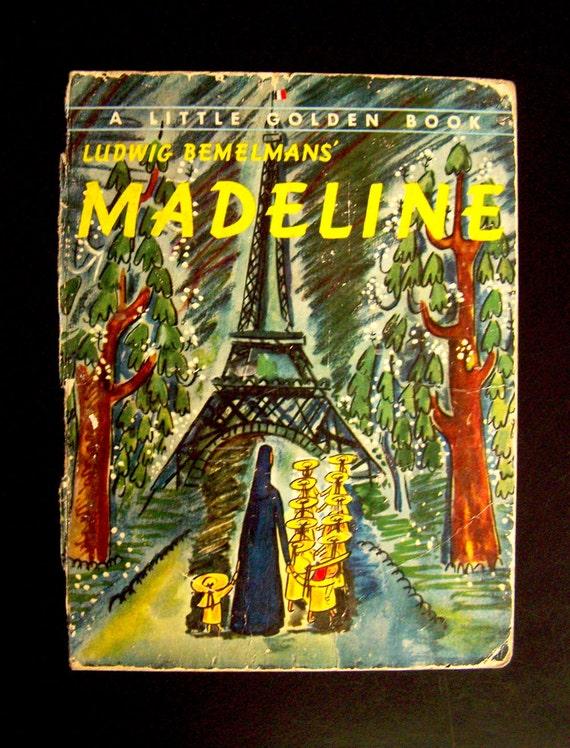 Vintage Book Cover for Framing Madeline 1954