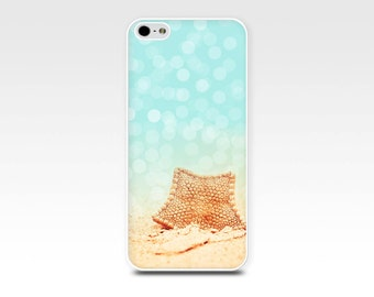 iphone 6 case beach iphone case 6s nautical iphone case 5s starfish iphone case ocean iphone case fine art iphone case girly aqua golden