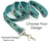 5' Dog Leash Custom - Your Choice of Design