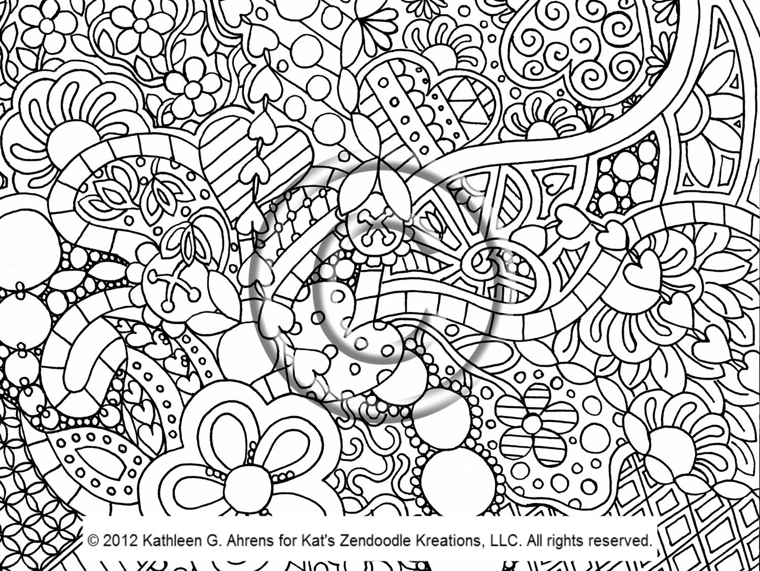 psychedelic coloring pages - photo#15