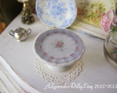 Blue Beth Rose Cake Stand