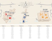 36 by 24-Wedding Seating Chart
