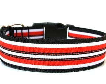 "Hallloween Dog Collar 1.5"" Large Dog Collar"