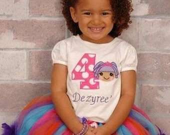 Lalaloopsy tutu outfit - Pick your number