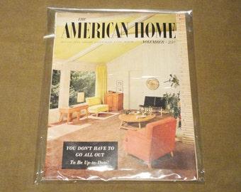 Complete Magazine November 1954 The American Home Vintage Architecture Design Fashion Atomic Mid-Century Mad Men Eames RARE 1950's 50s