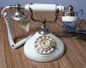 Vintage French Style Princess Phone Ivory