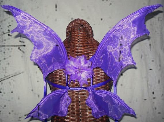 Purple Dragon Pixie Eater Wings