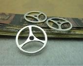 20 pcs 20mm Antique silver gears wheels sawtooth gearwheels Watch movements connectors links Charms Pendants fc99585
