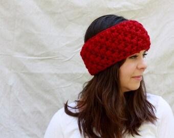 Crocheted headband - The Northerner ear band