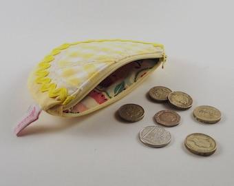 Lemon Fruit slice Coin Purse