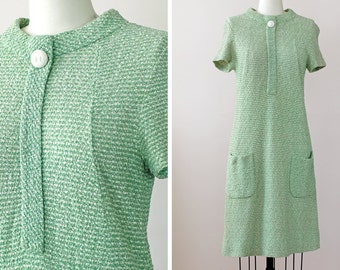 SALE 1970s Scooter Dress / 70s Mod Dress // The Campus Charmer Dress