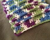 Pattern: Super Ridges Star Stitch Dish Cloth