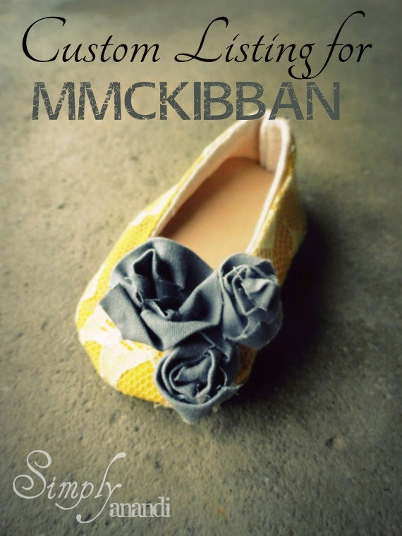 CUSTOM LISTING for mmckibban--Baby girl shoes--Joslyn--mustard lace