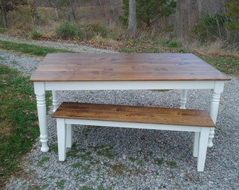 Rustic Farm Table, Etsy Furniture, Farm Tables On Etsy, Farmhouse Table,  Kitchen