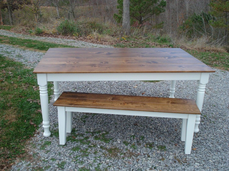 Rustic Farm Table Etsy Furniture Farm Tables on by KKFurniture