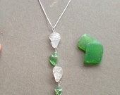 Chandelier Seaglass Necklace