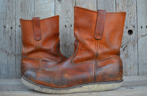 Sale Vintage RED WING Pecos Pull On Crepe by RoslynVTGTradingCo