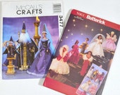 Barbie Patterns Butterick 5061 and McCalls 3477 Uncut