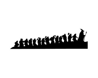 Car / House / WIndow Hobbits Decal
